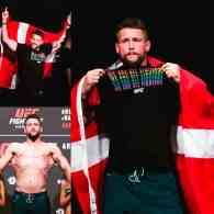MMA Fighter Nicolas Dalby Stands with the LGBTQ Community at UFC Weigh-In