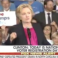Hillary Clinton Blasts NC's Anti-LGBT HB2 at Rally in Raleigh: WATCH