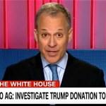 Eric Schneiderman Trump foundation