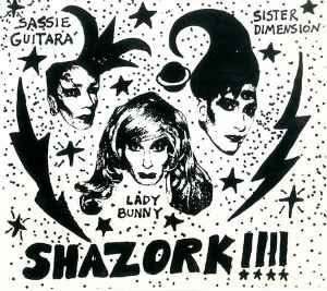 Shazork!!!! at Danceteria invitation. Courtesy Museum of the City of New York