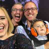 Take In the Cuteness as Adele Invites Two Gay Dads and Their Baby to Her Stage in Toronto