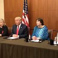 Donald Trump Holds Desperate Facebook Live Press Event with Bill Clinton Accusers: WATCH