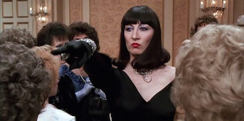 Anjelica Huston streaming october