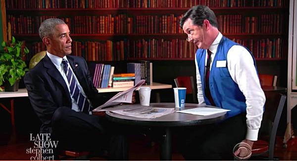 Obama job interview