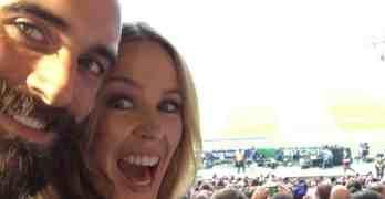 Kylie Minogue Joshua Sasse Instagram