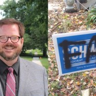 Out Iowa Candidate's Home Hit with 'Fag' Graffiti, Anti-Gay Bible Verses