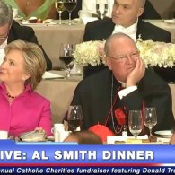 Donald Trump Booed for Caustic 'Jokes' about Hillary Clinton at Al Smith Dinner: WATCH