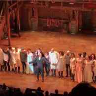 VP-Elect Mike Pence Attends 'Hamilton', Gets Special Message from Cast at Curtain Call: Watch