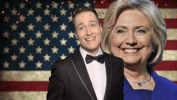 randy rainbow had an ill fated dream that hillary won and it was