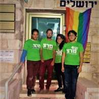 Activists Hang Rainbow Flag Outside Office of Jerusalem Rabbi Who Called for Executing All LGBT People