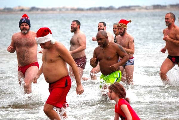 Polar Bear Plunge New Years Provincetown