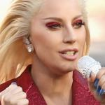 Gaga sings this week on TV
