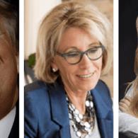 Trump, DeVos, Evancho