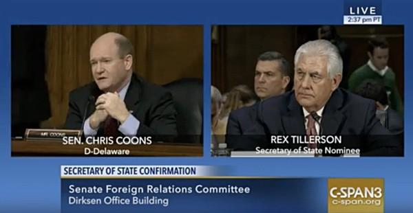 Rex Tillerson gay