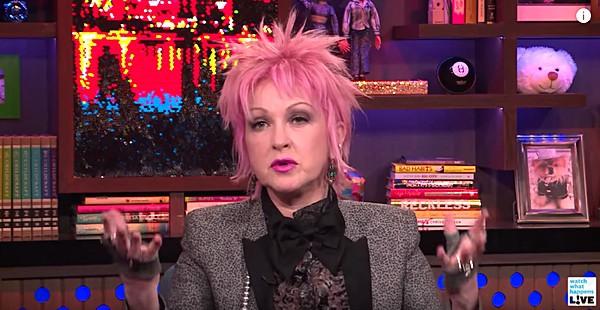 Cyndi Lauper Madonna