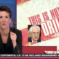 Rachel Maddow: Exxon CEO Rex Tillerson as Sec'y of State is $500 Billion Gift to Putin and Himself