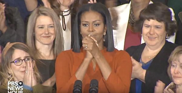 Michelle Obama final speech