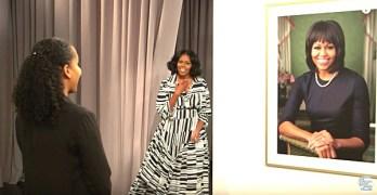 Michelle Obama surprises