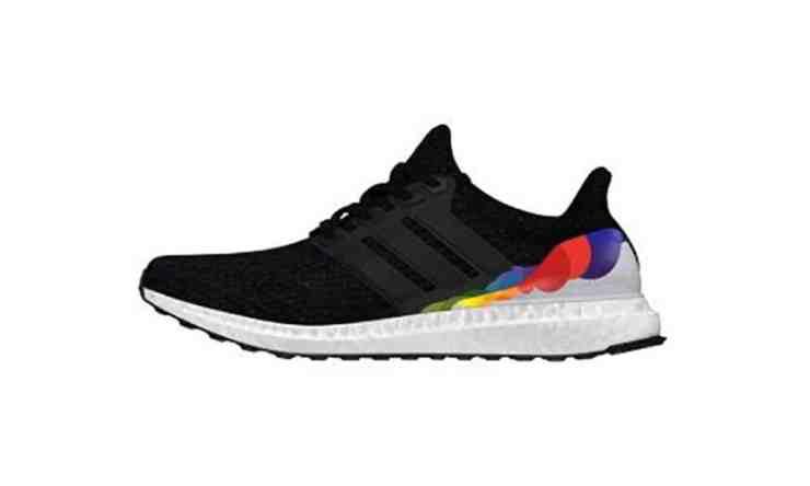 Adidas LGBT rainbow ultra boost