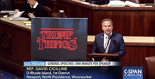David Cicilline stranger things speech