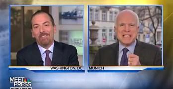 Chuck Todd John McCain