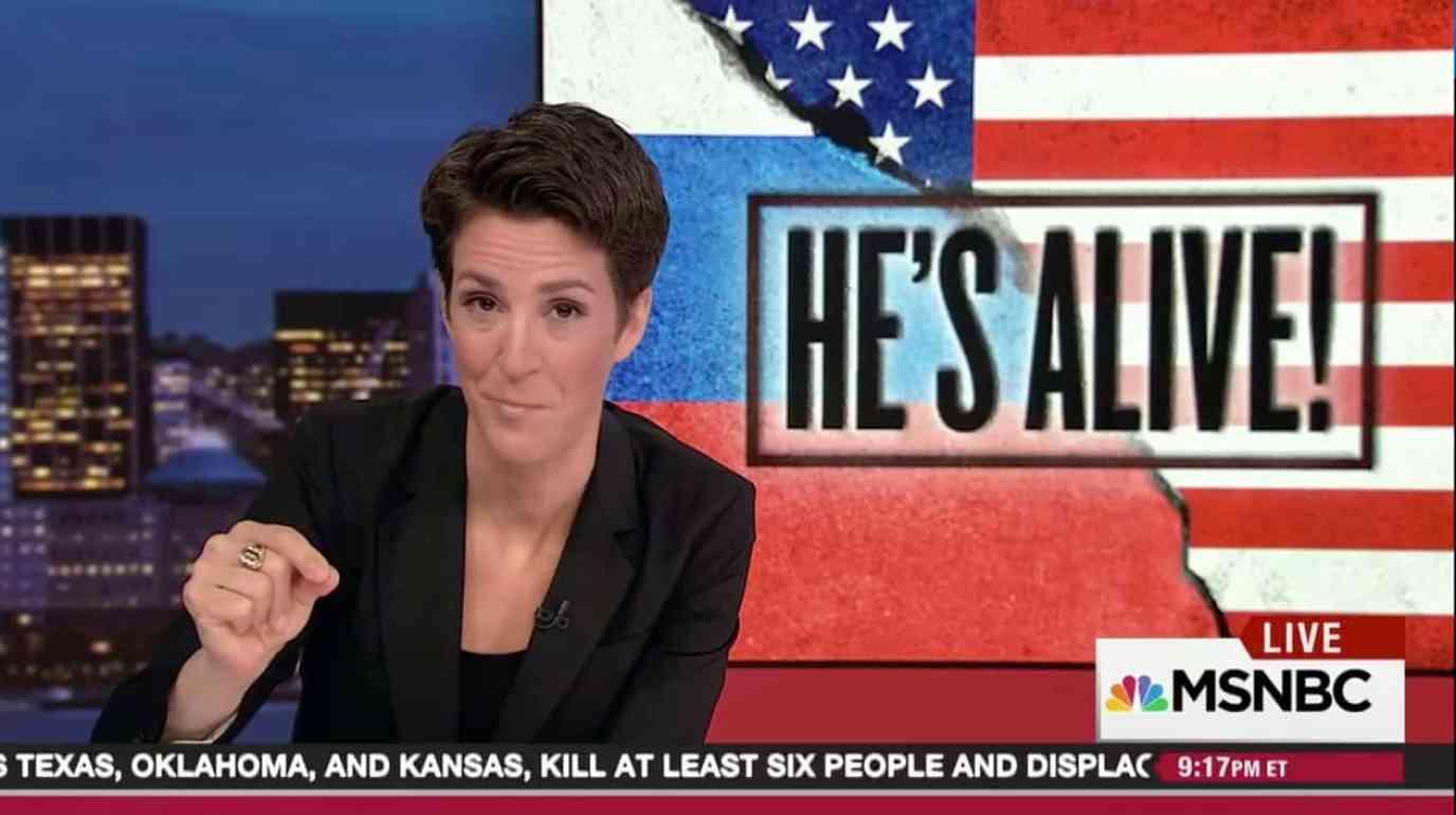 Maddow Trump Russia Collusion