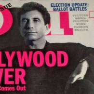 It Took More Than Power For Sandy Gallin to Cover Out's Hollywood Issue
