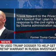 FBI Used Dossier on Trump to Get FISA Warrant on Carter Page