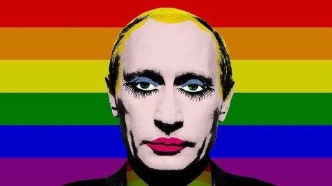 Vladimir Putin Gay Clown