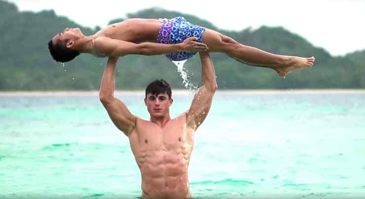Pietro Boselli workout