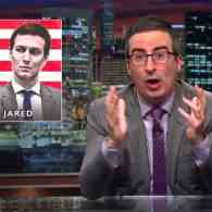John Oliver Claims This Isn't an Evisceration of Ivanka Trump and Jared Kushner, But It Is: WATCH