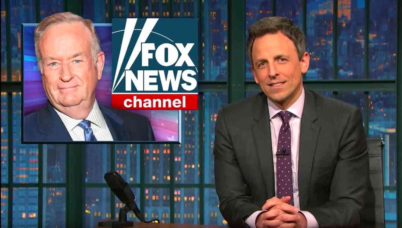 Bill O'Reilly Seth Meyers Trump FOX News