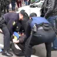 Assailants Attack Ukrainian LGBT Activists and Police, Burn Rainbow Flag