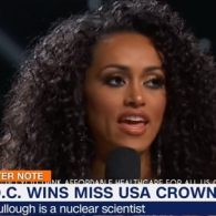 Nuclear Scientist and Newly-Crowned Miss USA Says Healthcare is a Privilege, Not a Right: VIDEO