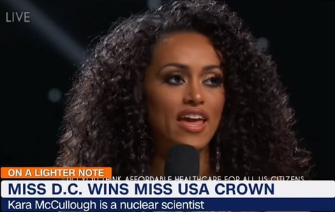 Kara McCullough Miss USA 2017