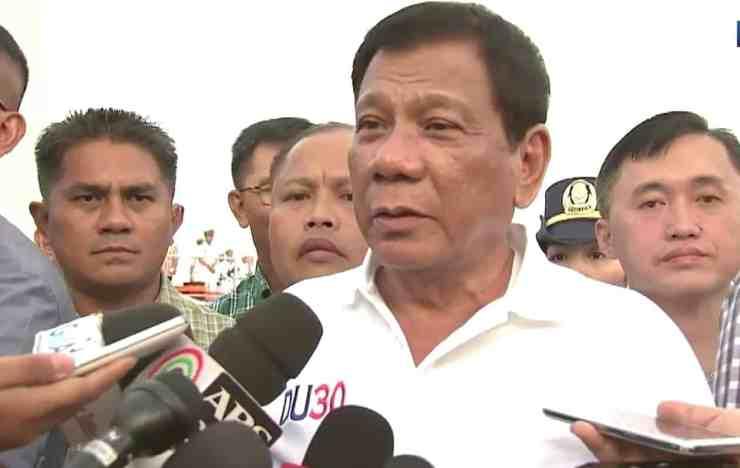 Rodrigo Duterte same-sex marriage