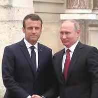 Putin Promises French President Emmanuel Macron 'the Whole Truth' About Gays in Chechnya