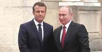 Macron Putin