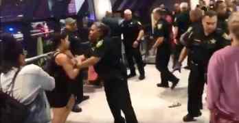spirit airlines brawl