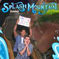 Man Proposes to His Boyfriend in Amazing Disneyland Splash Mountain Souvenir Photo