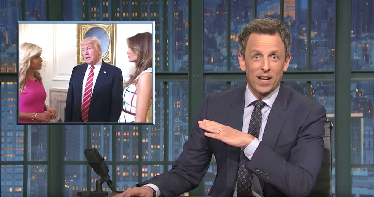 Seth Meyers Analyzes