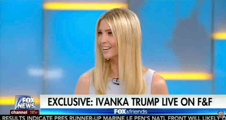 Ivanka on Being in the... Ivanka Trump Administration