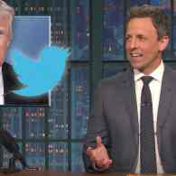Seth Meyers Just 'Can't' with Trump's Tweet Attacking Mika Brzezinski: WATCH