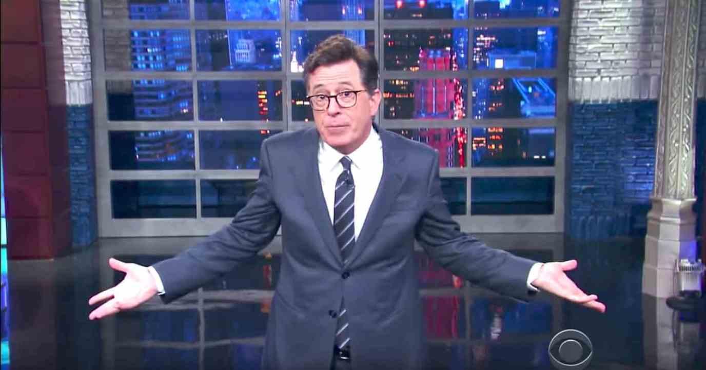 Stephen Colbert private meeting