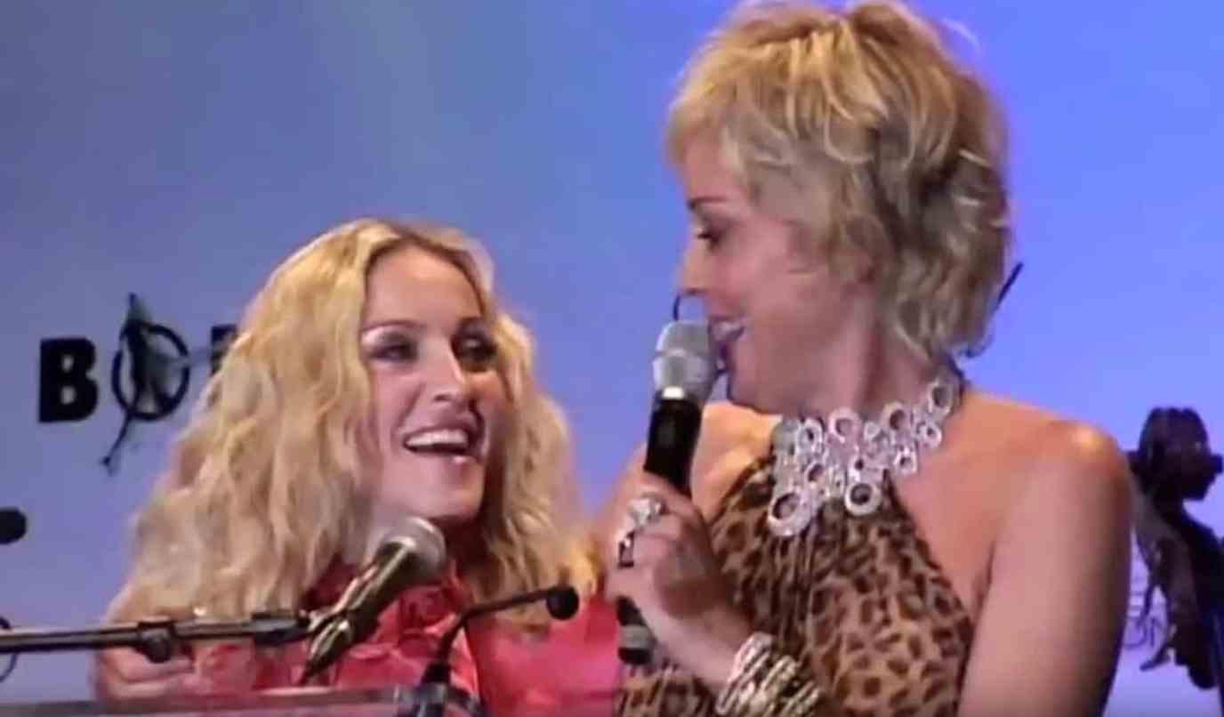 Madonna Sharon Stone