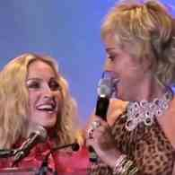 Sharon Stone Responds to Private Low Blow from Madonna by Going High