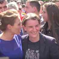 Serbia's Gay Prime Minister Marches in Belgrade Pride Parade for First Time as Extremist Groups Protest: WATCH