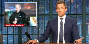Anderson Cooper Seth Meyers