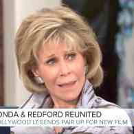 Megyn Kelly Gets the Death Glare from Jane Fonda After Asking About Her Plastic Surgery: WATCH