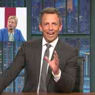 Seth Meyers Scolds Hillary Clinton: 'Don't Blame Bernie' for Your Election Loss: WATCH
